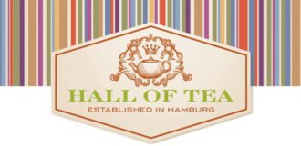 Autorisierter Partner von Hall of Tea Hamburg